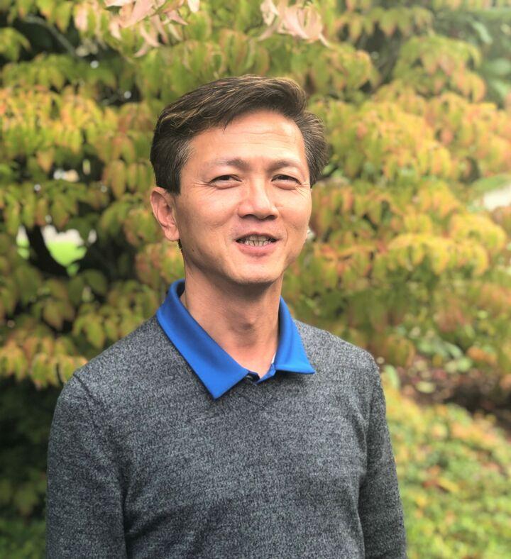 Tim  Wei ,  in Portland, Windermere